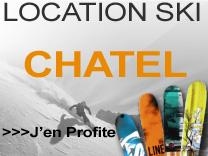 Location Ski chatel
